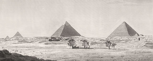 Giza pyramids and Great Sphinx