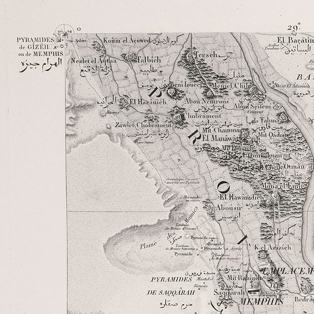Napoleon And The Scientific Expedition To Egypt Linda Hall Library - Map of egypt detailed